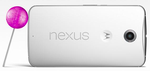 Nexus 6 revealed back