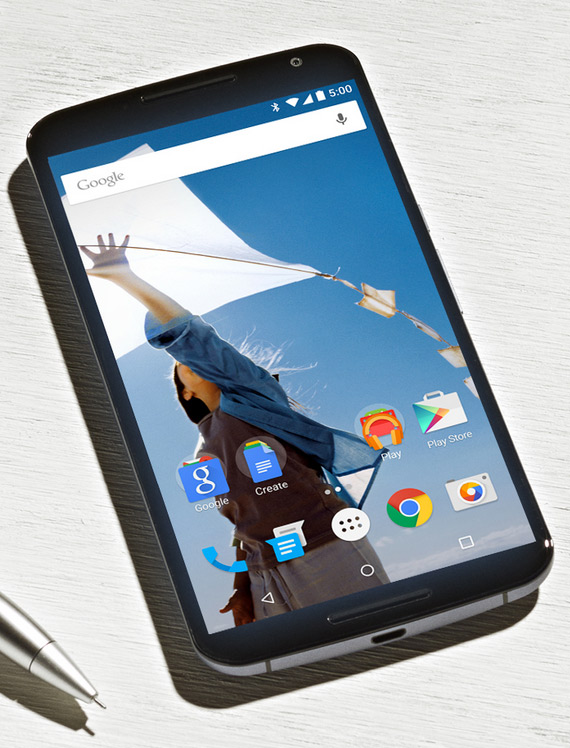 Nexus 6 revealed