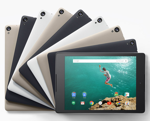 Nexus 9 revealed
