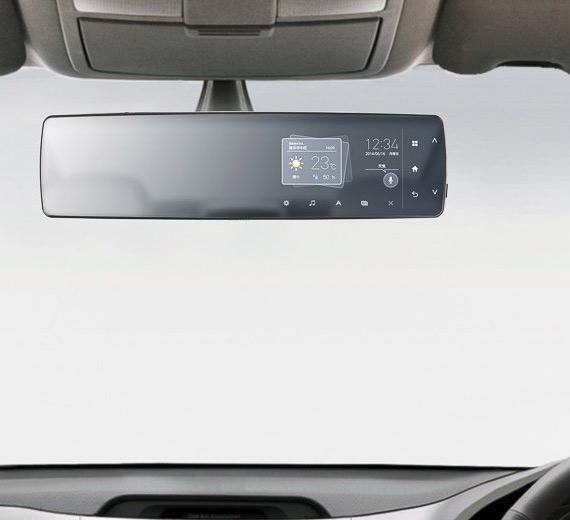 Pioneer, Κατασκεύασε έξυπνο καφρέφτη αυτοκινήτου