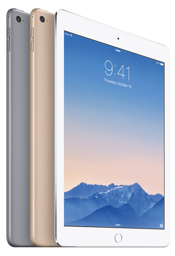 iPad Air 2 revealed official