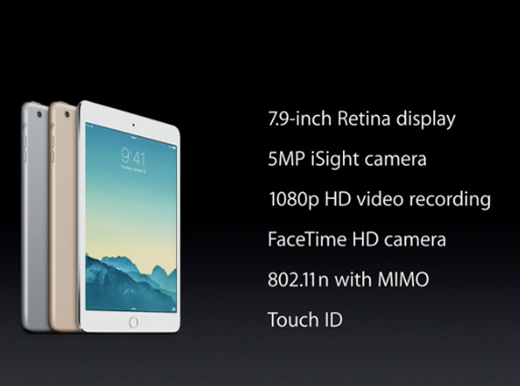 iPad mini 3 revealed