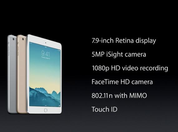 iPad mini 3 revealed