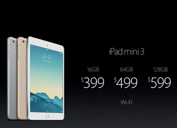 iPad mini 3 times