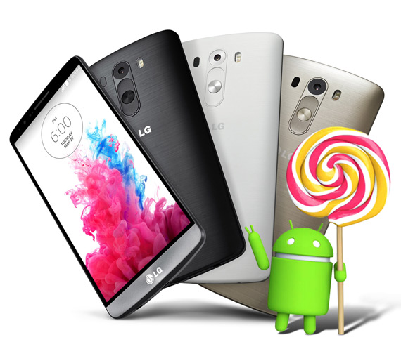 LG G3 Android 5.0 Lollipop Greece