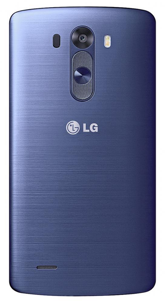 LG G3 Blue Steel back