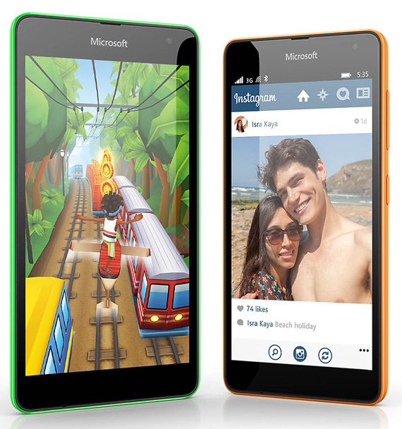 Microsoft Lumia 535 revealed