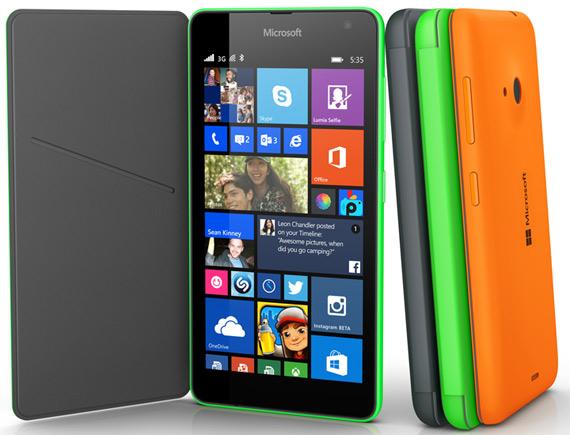 Microsoft Lumia 535 revealed