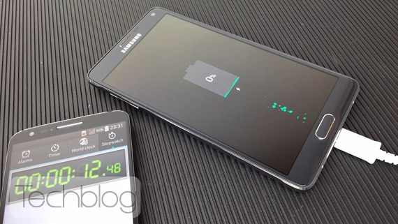 Note 4 fast charging