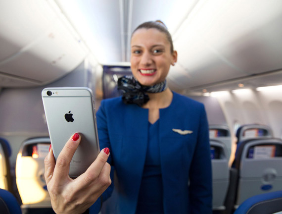 United Airlines iPhone 6