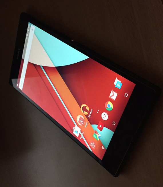 sony xperia z ultra gpe android lollipop