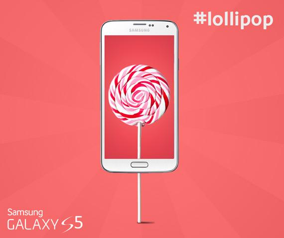 Galaxy S5 Lollipop update Greece
