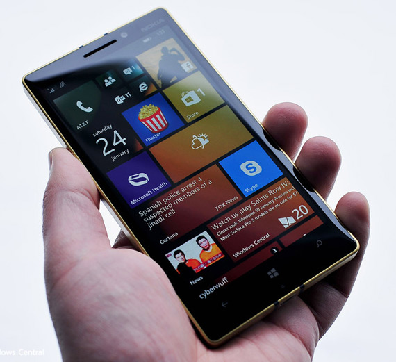 Gold Lumia 930 hero