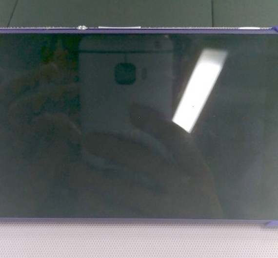 HTC One M9 back from Xperia Z2