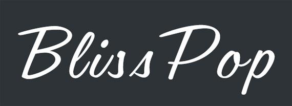 Heading Blue BlissPop logo