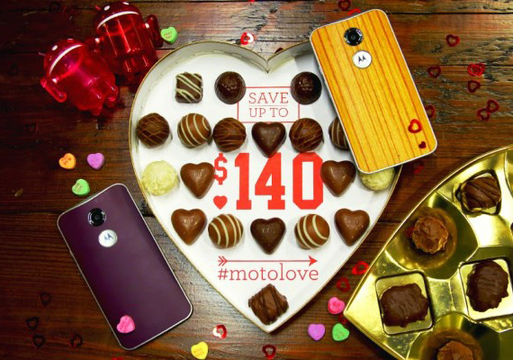 Motorola Love Valentines day 2015