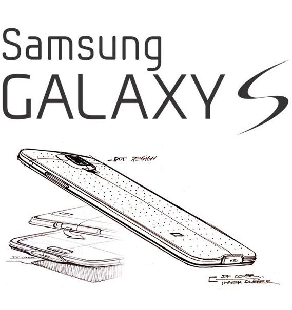 Samsung Galaxy S design