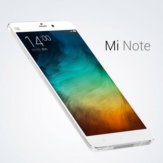 Xiaomi Mi Note revealed