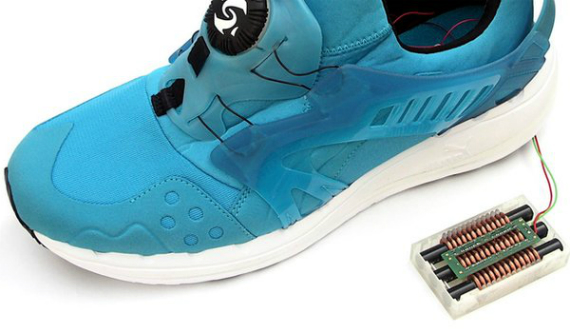 shoes generate energy