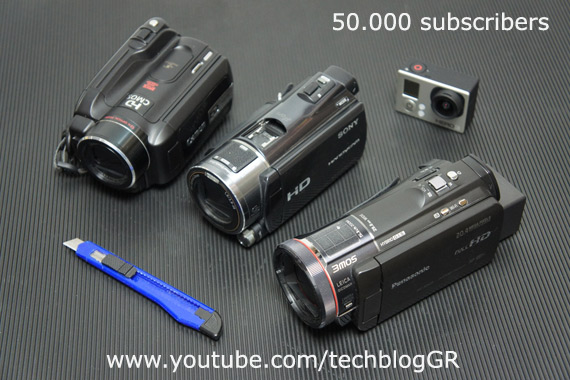 50.000 subscribers youtube