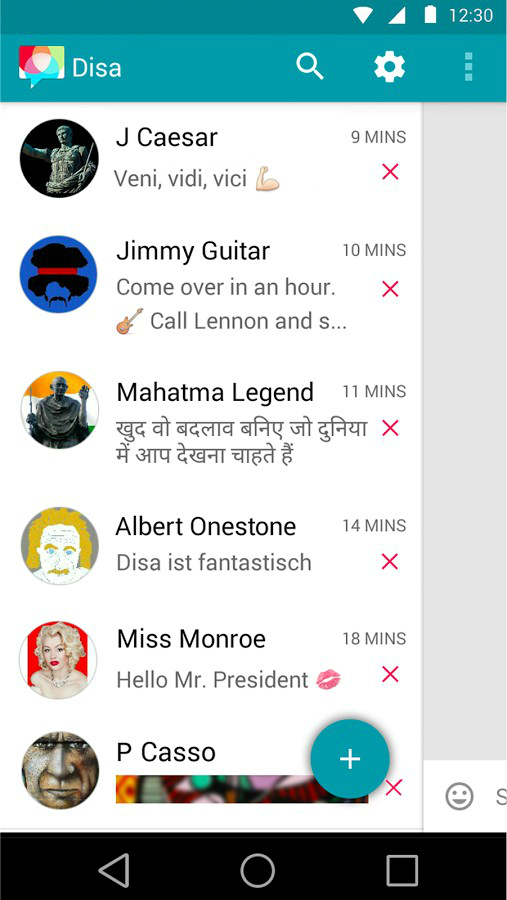 Disa unified messaging