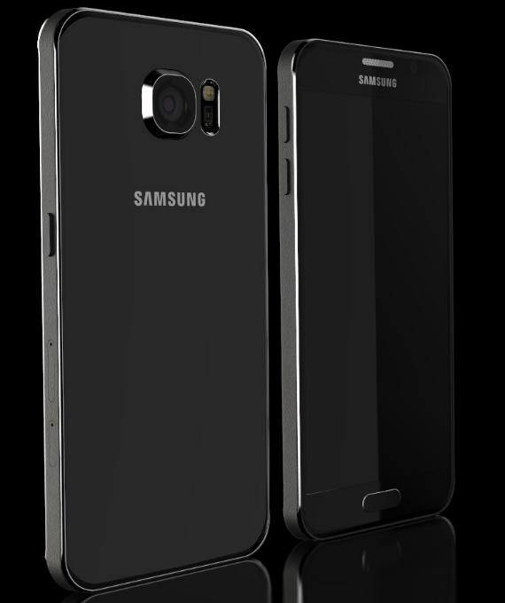 Galaxy S6 and S6 Edge concept