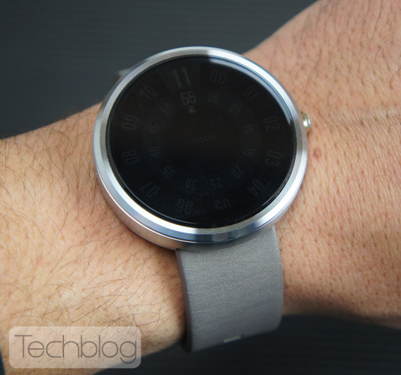 Motorola Moto 360 hands-on TechblogTV