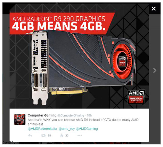 Radeon R9 290 twitter