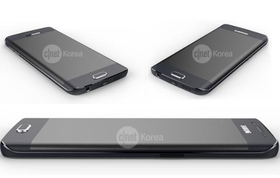 Samsung Galaxy S6 Edge renders
