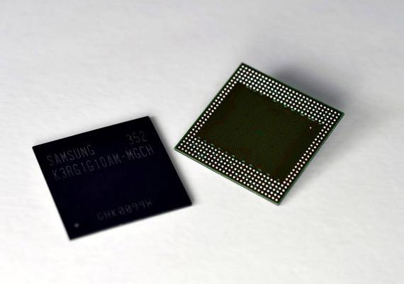 Samsung RAM memory