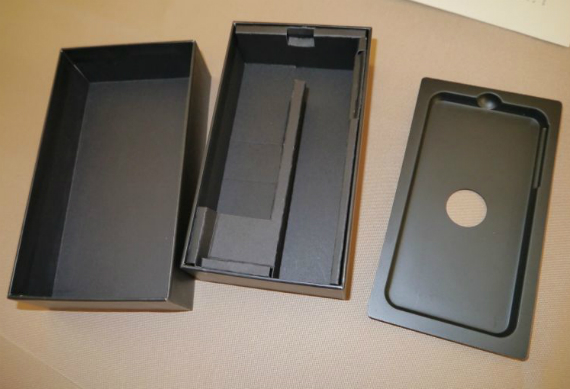 Vaio smartphone retail packaging