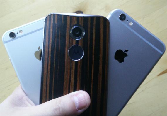 iPhone 6 vs Moto X