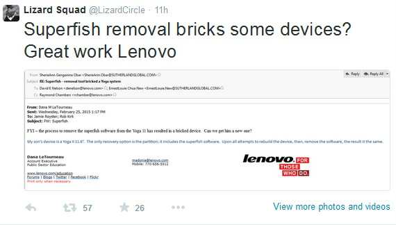lenovo hacked