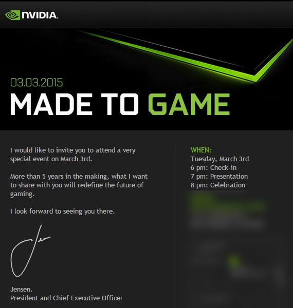 nvidia invitation