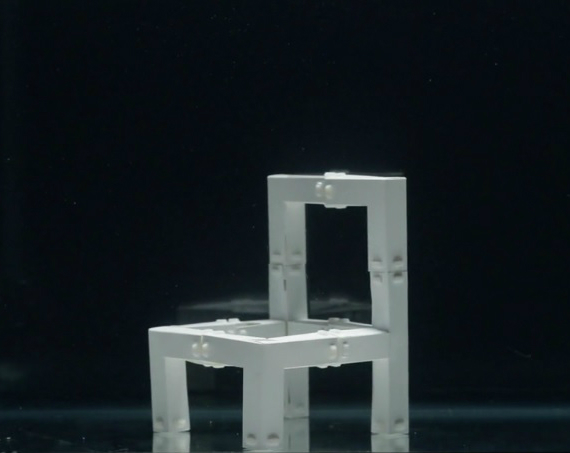 self assembling chair