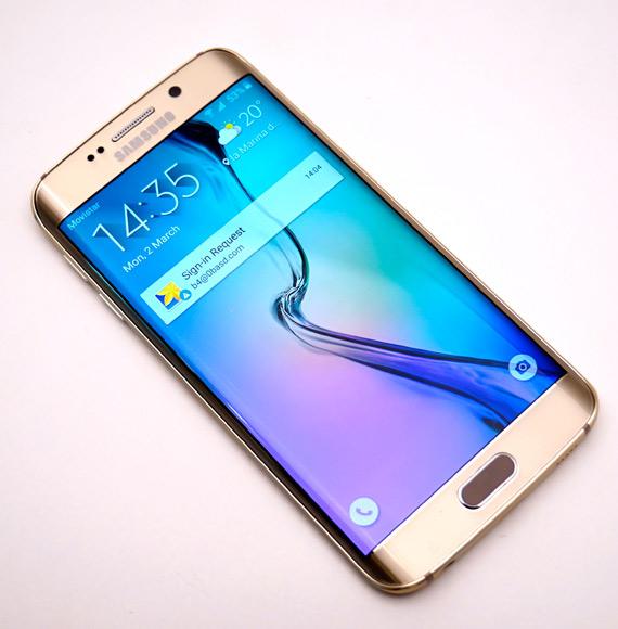 Galaxy S6 Edge gold