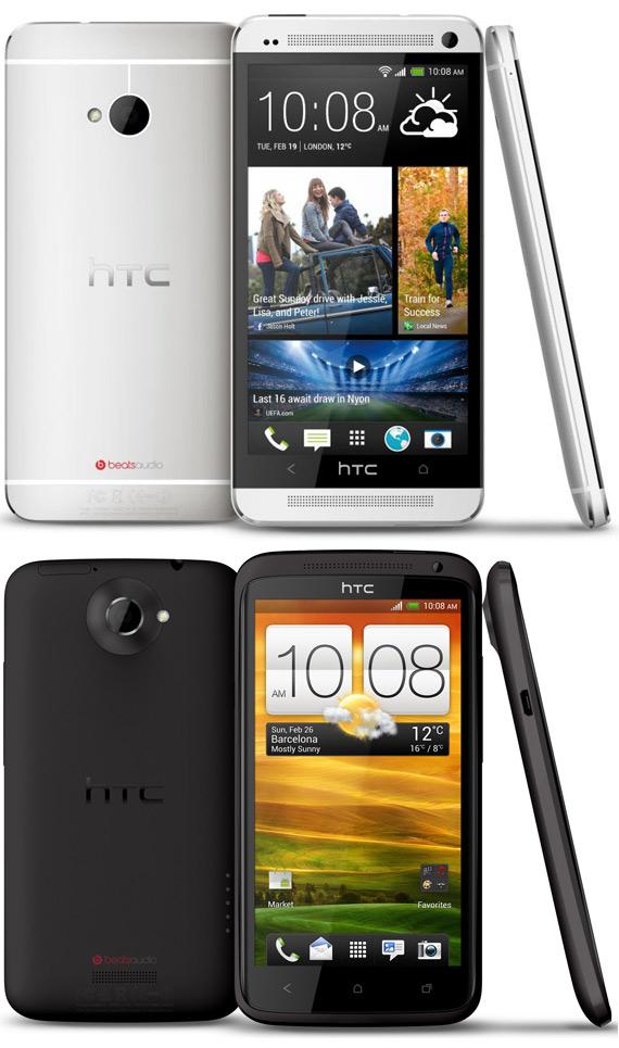 HTC One vs One X