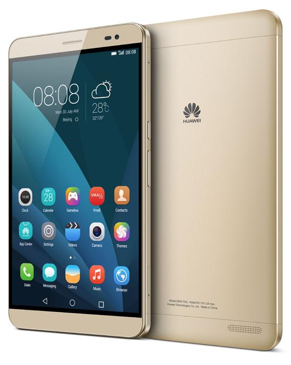 Huawei MediaPad X2 gold
