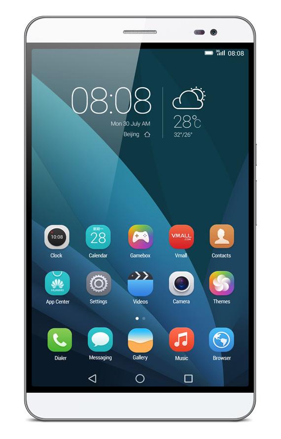 Huawei-MediaPad X2 silver