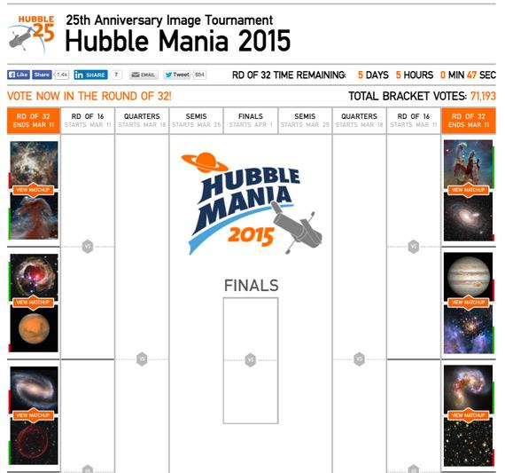 Hubble Mania 2015