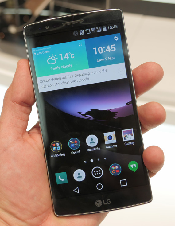 LG G Flex 2 MWC 2015