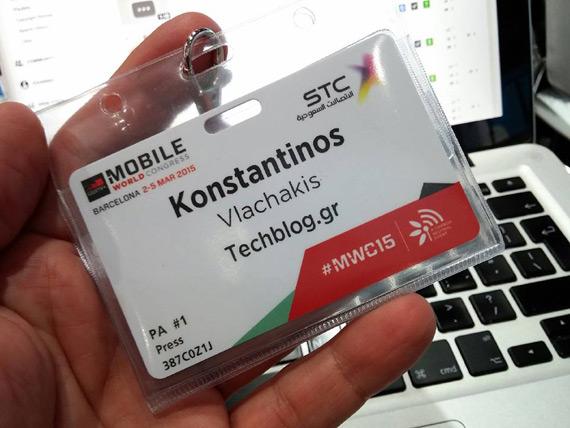 MWC 2015 badge