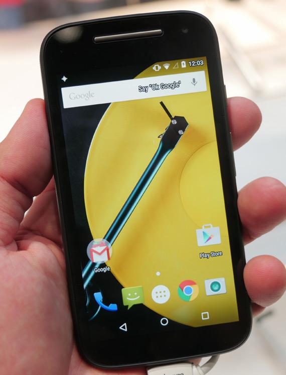 Motorola Moto E 2nd gen MWC 2015