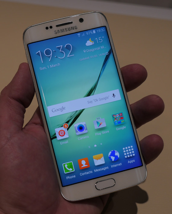 Samsung Galaxy S6 Edge-MWC 2105