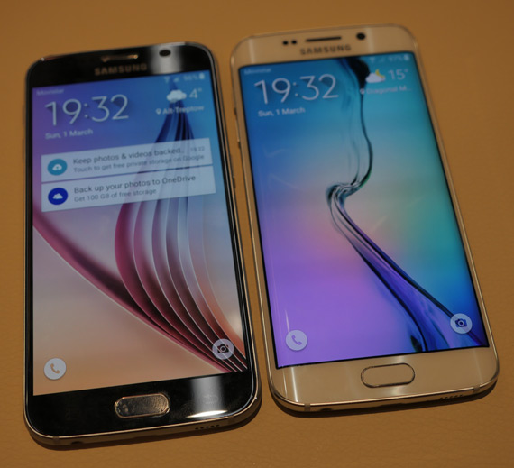 Samsung Galaxy S6 Edge and S6 MWC 2105