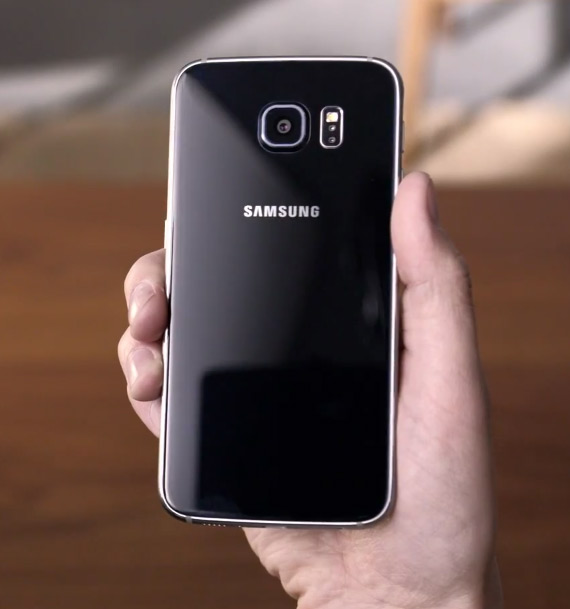 Samsung Galaxy S6 official hands-on video