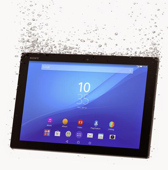 Sony Xperia Z4 tablet MWC 2015