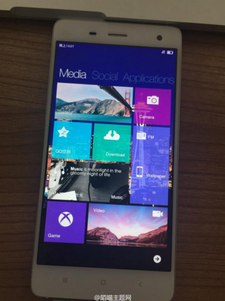 Xiaomi Mi4 Windows