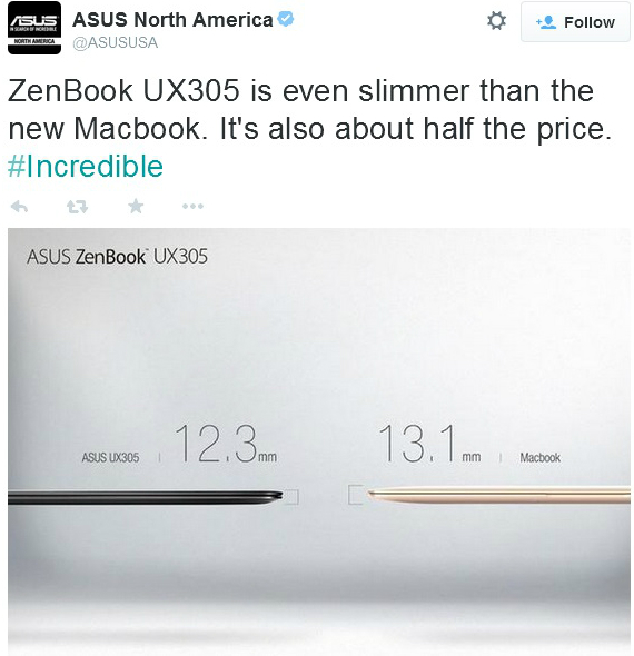 asus vs macbook