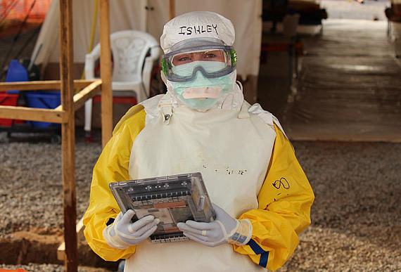google ebola tablet
